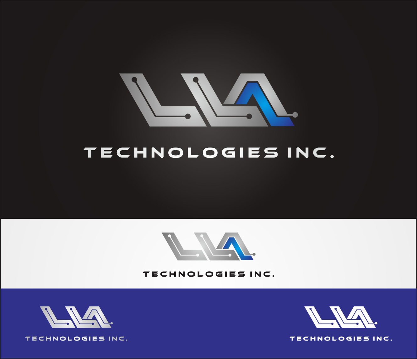 Logo Design by Armada Jamaluddin - Entry No. 139 in the Logo Design Contest Inspiring Logo Design for LLA Technologies Inc..