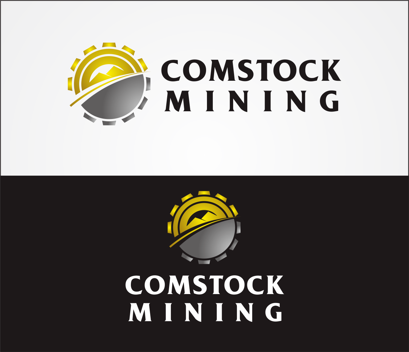 Logo Design by Armada Jamaluddin - Entry No. 101 in the Logo Design Contest Captivating Logo Design for Comstock Mining, Inc..