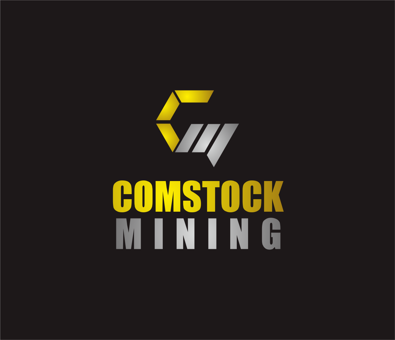 Logo Design by Armada Jamaluddin - Entry No. 102 in the Logo Design Contest Captivating Logo Design for Comstock Mining, Inc..