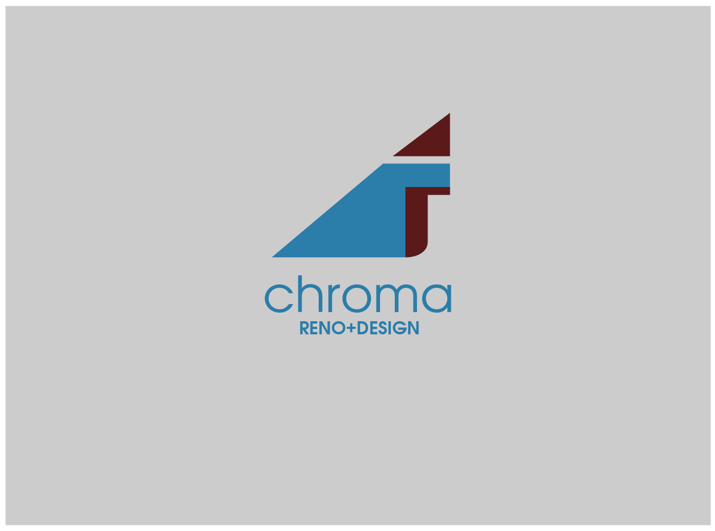 Logo Design by JaroslavProcka - Entry No. 211 in the Logo Design Contest Inspiring Logo Design for Chroma Reno+Design.