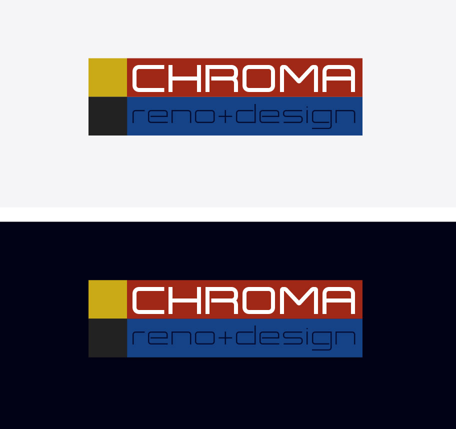 Logo Design by Boba Dizajn - Entry No. 212 in the Logo Design Contest Inspiring Logo Design for Chroma Reno+Design.