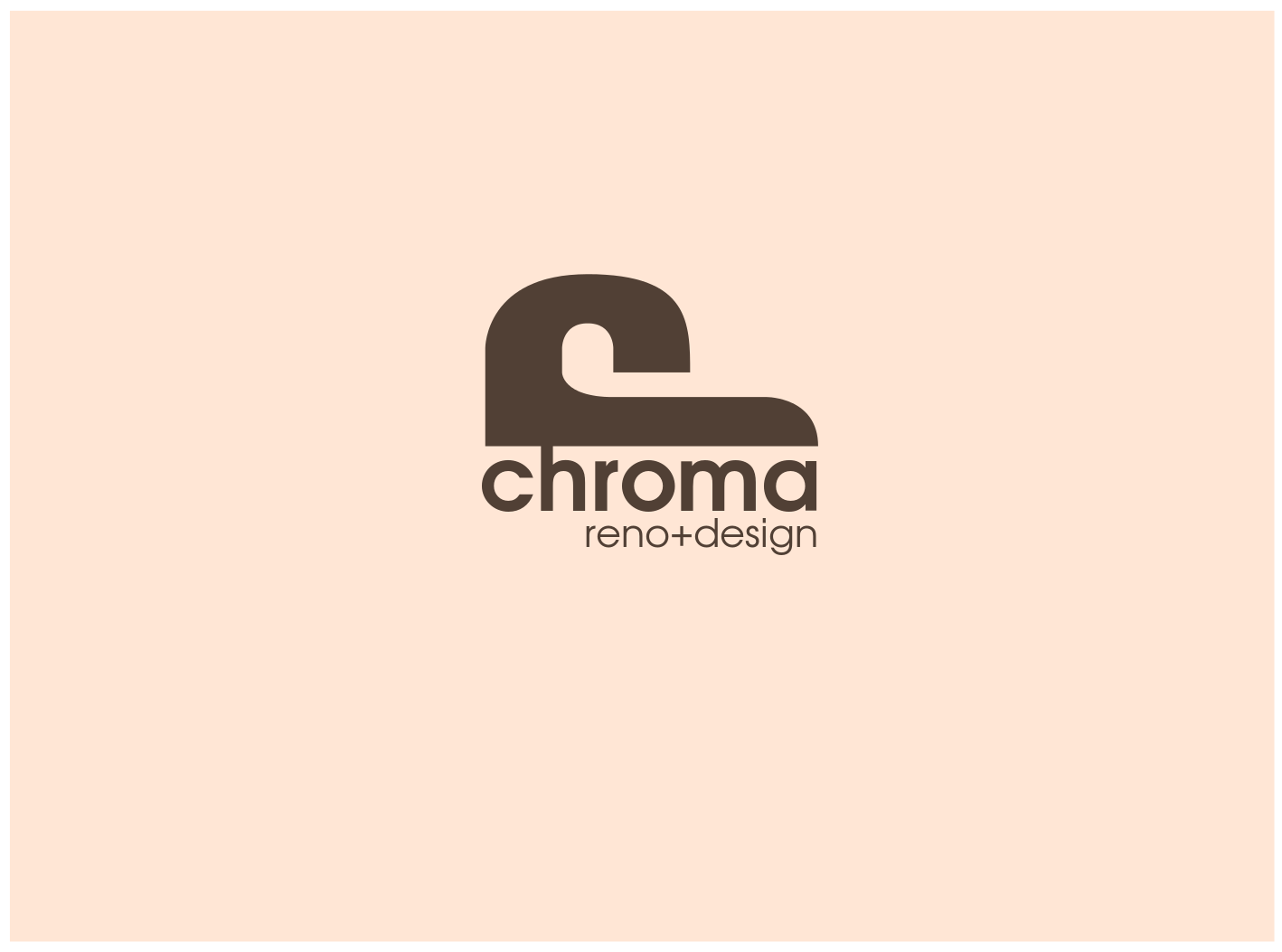 Logo Design by JaroslavProcka - Entry No. 214 in the Logo Design Contest Inspiring Logo Design for Chroma Reno+Design.
