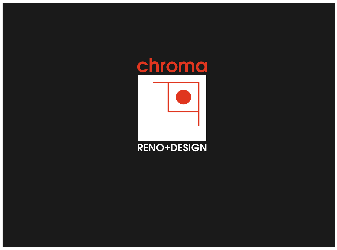 Logo Design by JaroslavProcka - Entry No. 216 in the Logo Design Contest Inspiring Logo Design for Chroma Reno+Design.