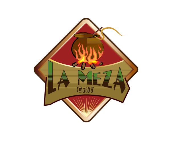 Logo Design by viewbee - Entry No. 49 in the Logo Design Contest Inspiring Logo Design for La Meza Grill Ltd..