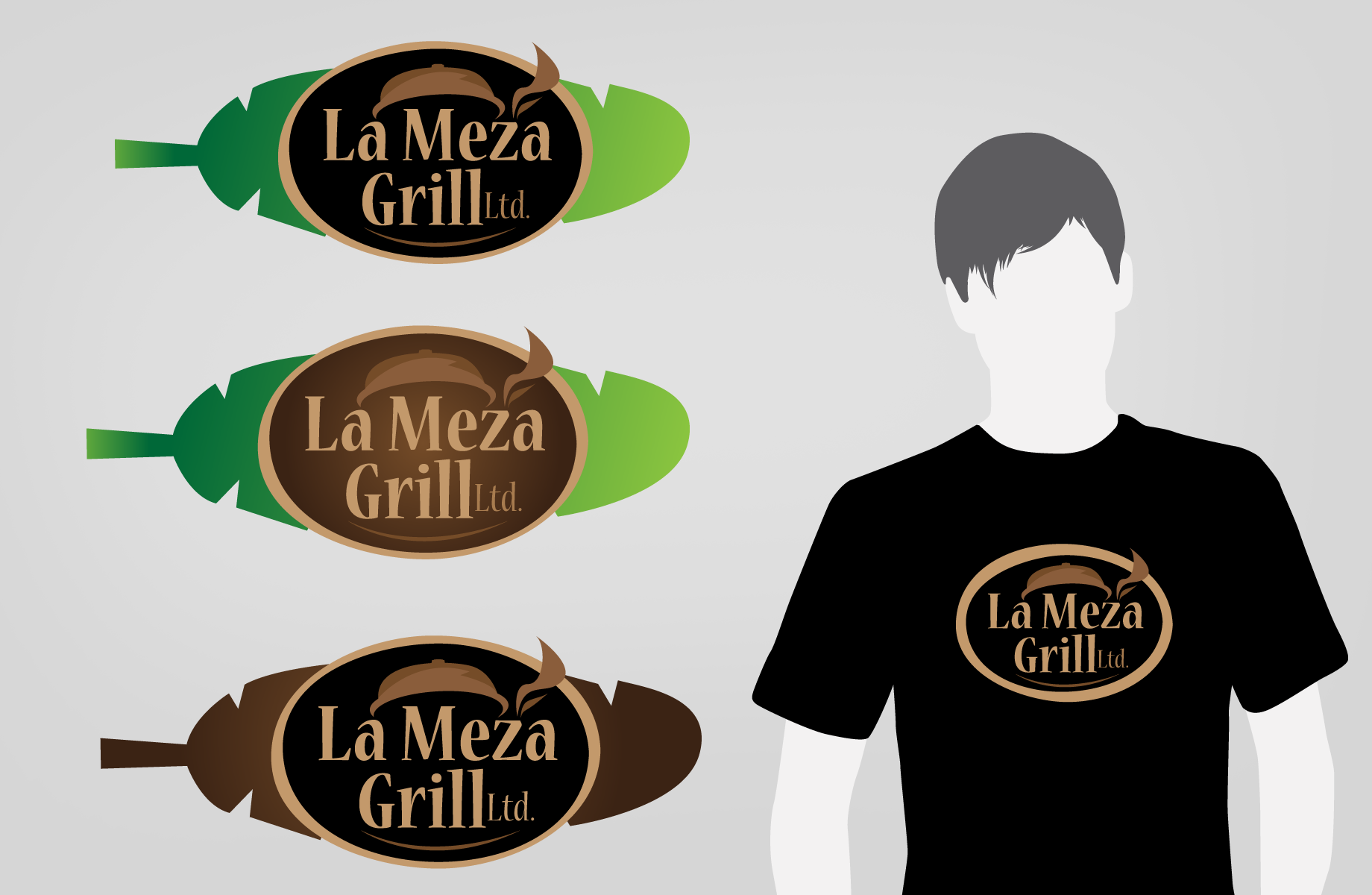 Logo Design by Jan Chua - Entry No. 50 in the Logo Design Contest Inspiring Logo Design for La Meza Grill Ltd..