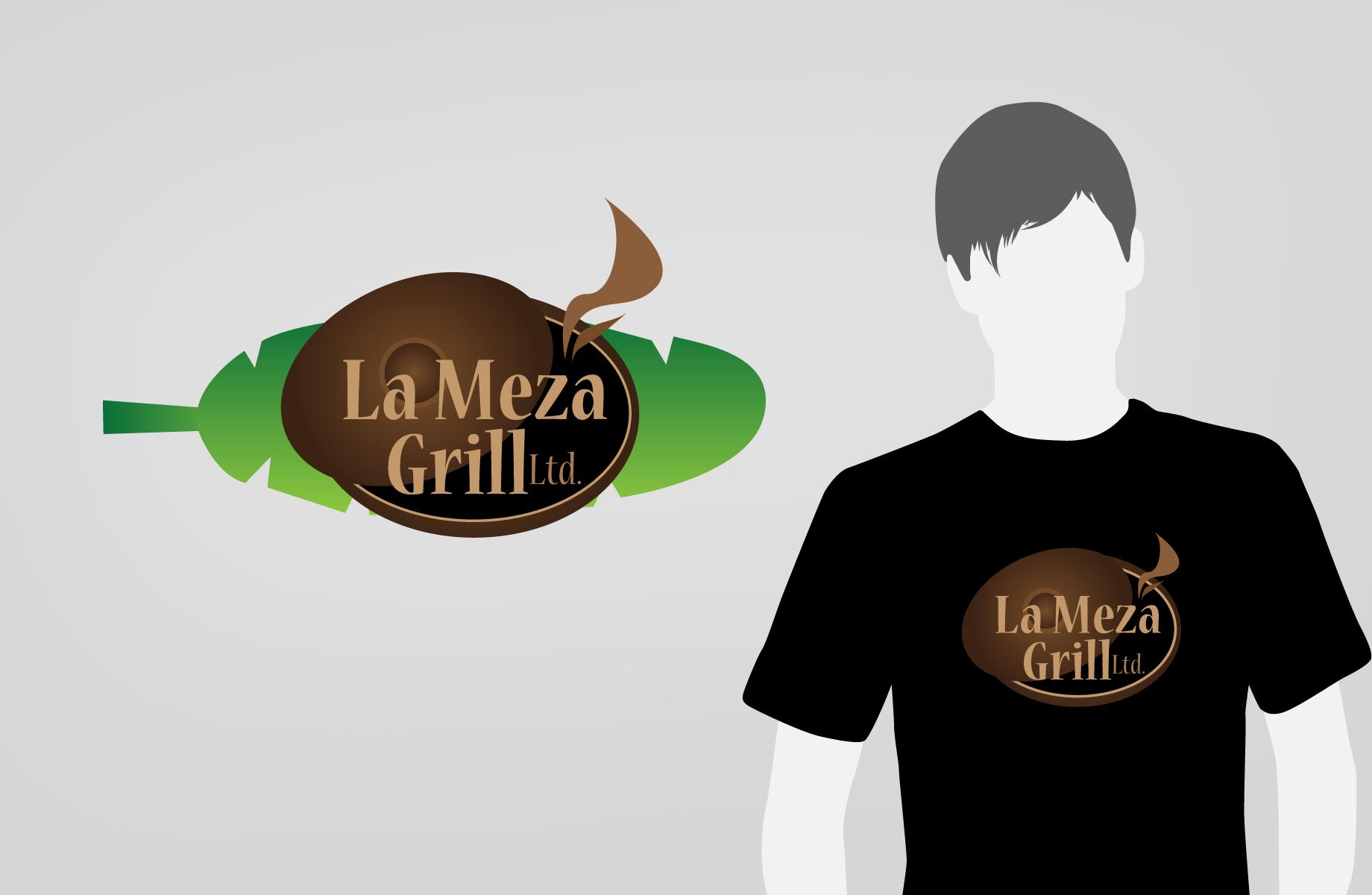 Logo Design by Jan Chua - Entry No. 51 in the Logo Design Contest Inspiring Logo Design for La Meza Grill Ltd..