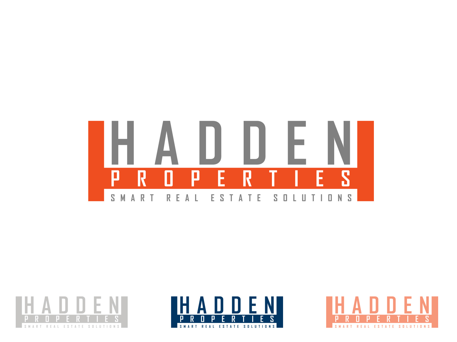 Logo Design by olii - Entry No. 156 in the Logo Design Contest Artistic Logo Design for Hadden Properties.