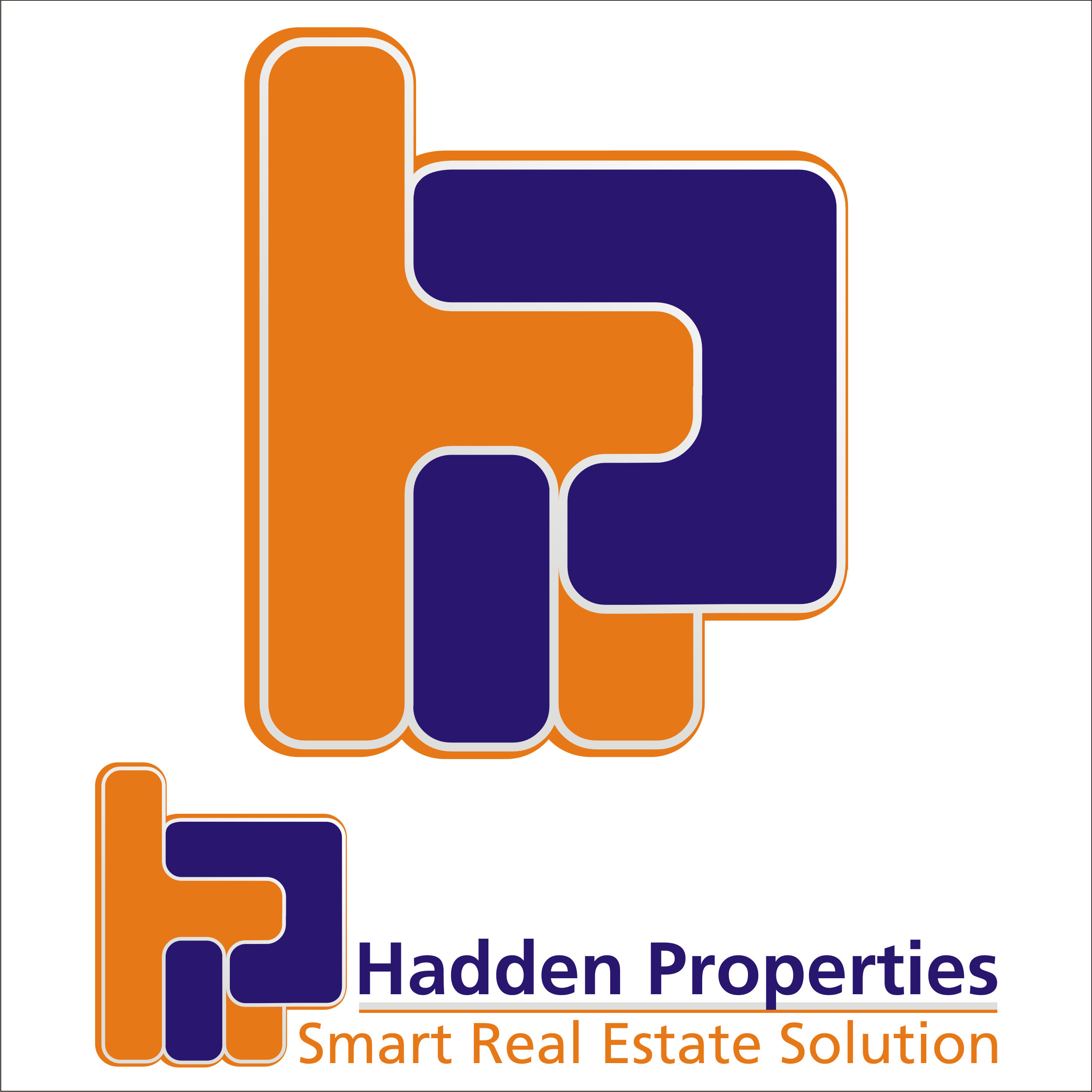Logo Design by Private User - Entry No. 163 in the Logo Design Contest Artistic Logo Design for Hadden Properties.