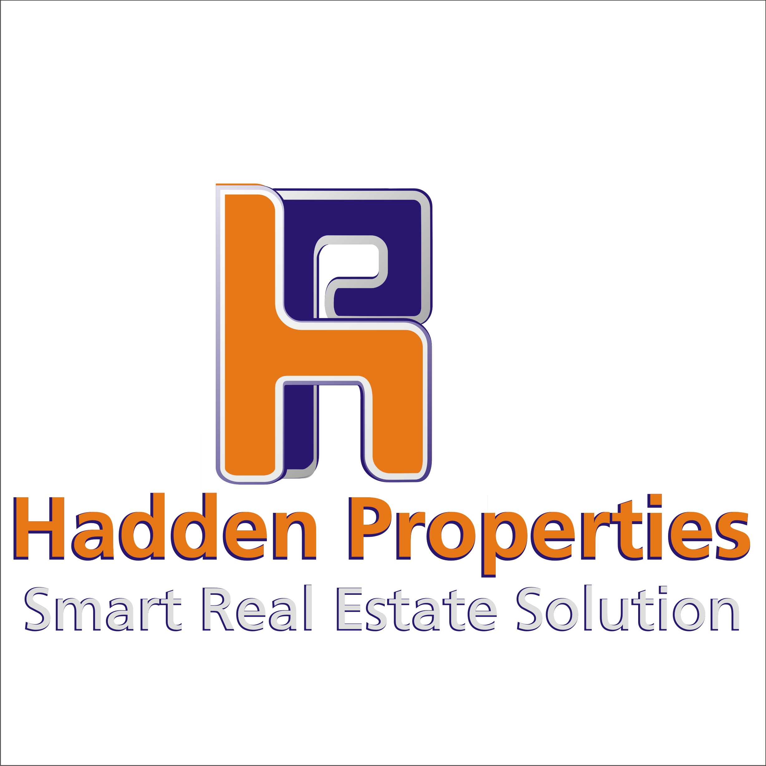 Logo Design by Private User - Entry No. 164 in the Logo Design Contest Artistic Logo Design for Hadden Properties.