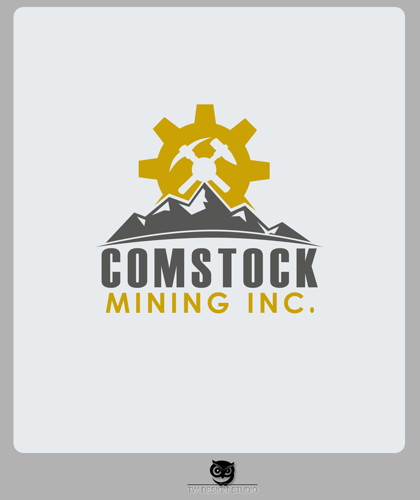Logo Design by Private User - Entry No. 104 in the Logo Design Contest Captivating Logo Design for Comstock Mining, Inc..