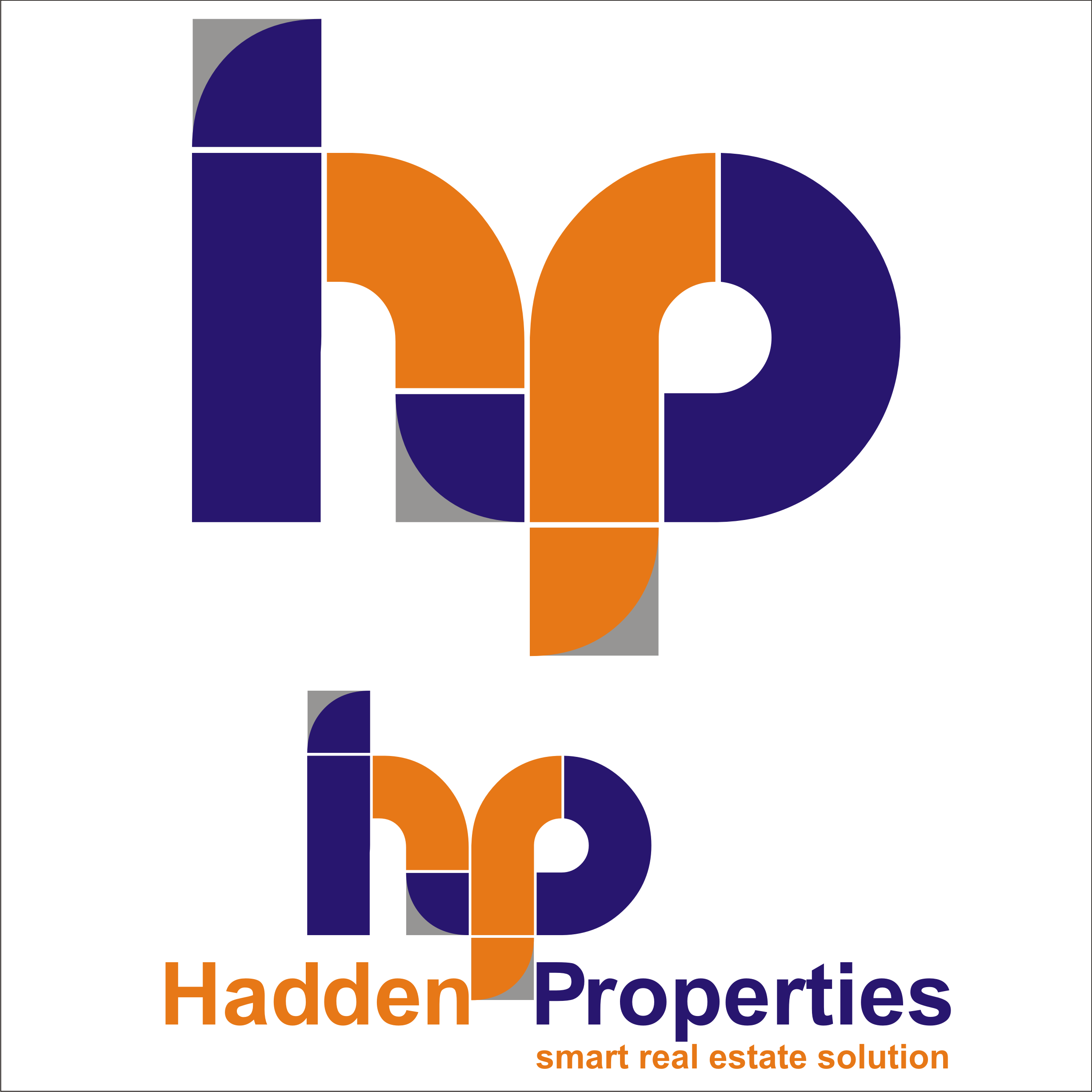 Logo Design by Private User - Entry No. 165 in the Logo Design Contest Artistic Logo Design for Hadden Properties.