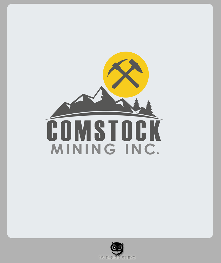 Logo Design by Private User - Entry No. 106 in the Logo Design Contest Captivating Logo Design for Comstock Mining, Inc..