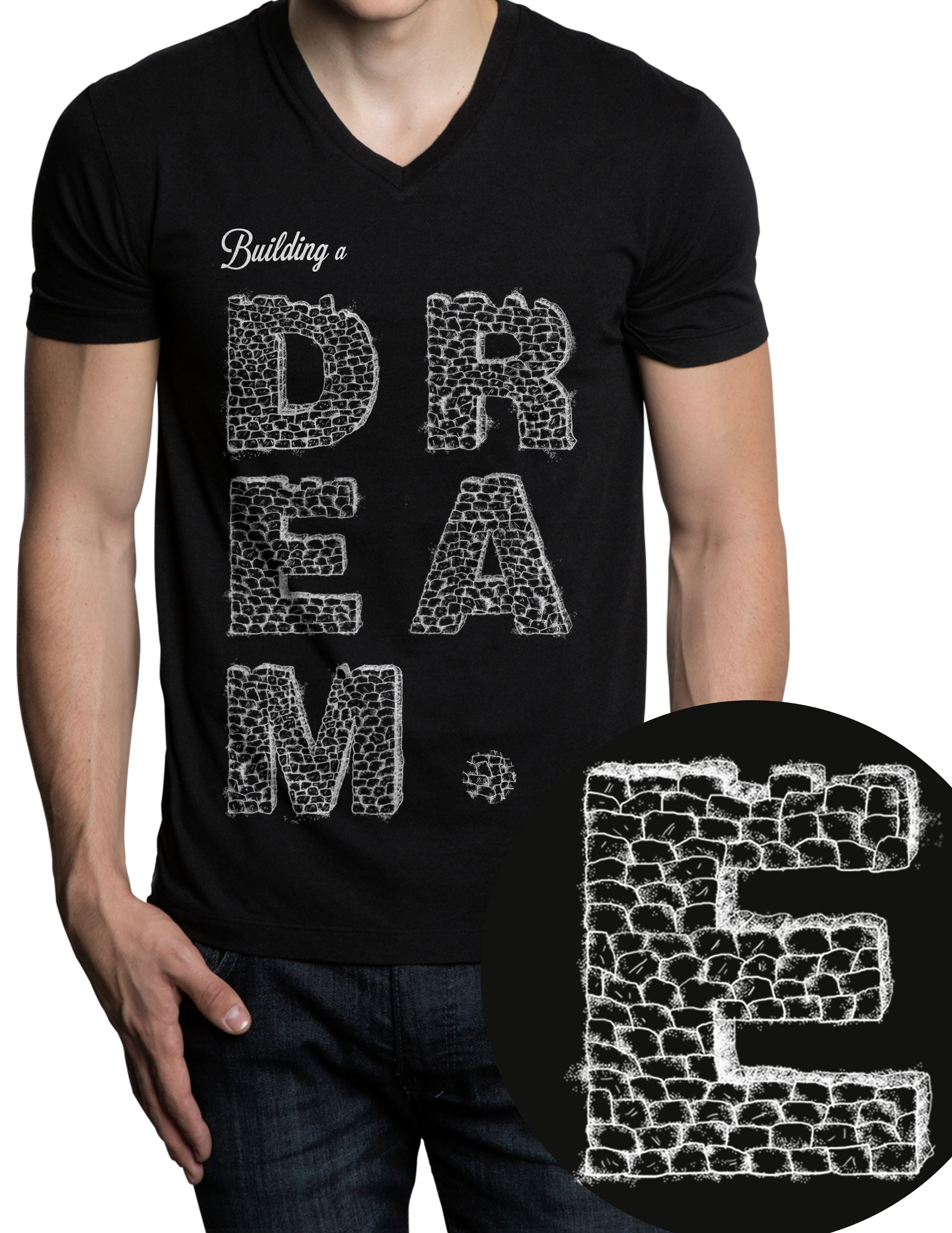 "Clothing Design by Jorge Henriquez - Entry No. 5 in the Clothing Design Contest Artistic Clothing Design... Represents the concept ""building a dream"" , which focuses on a teenage a."