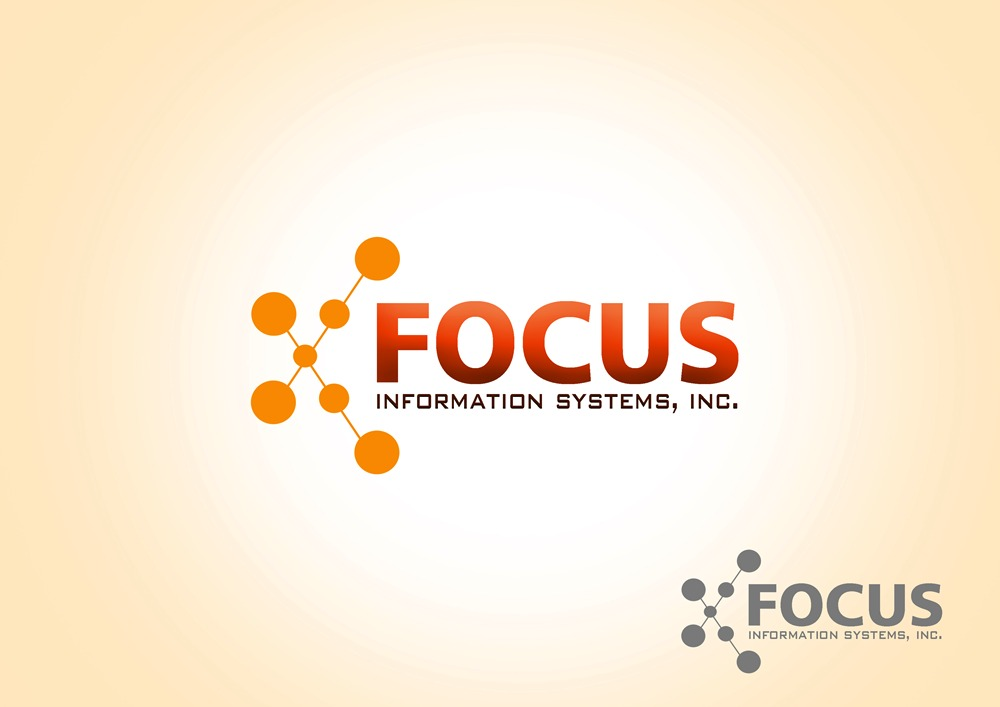 Logo Design by Respati Himawan - Entry No. 17 in the Logo Design Contest Artistic Logo Design for Focus Information Systems, Inc..