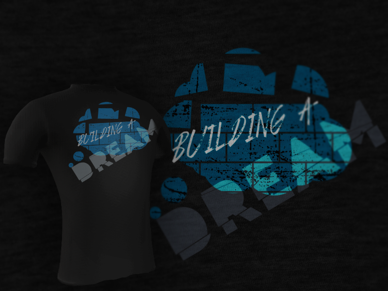 "Clothing Design by Private User - Entry No. 6 in the Clothing Design Contest Artistic Clothing Design... Represents the concept ""building a dream"" , which focuses on a teenage a."
