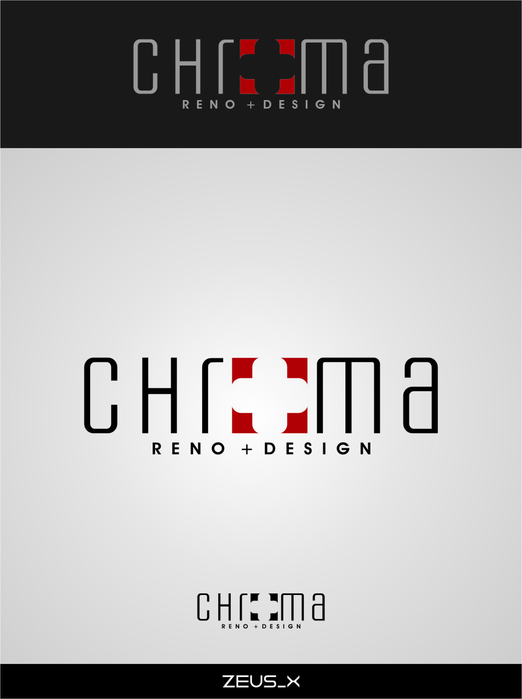 Logo Design by RoSyid Rono-Rene On Java - Entry No. 222 in the Logo Design Contest Inspiring Logo Design for Chroma Reno+Design.