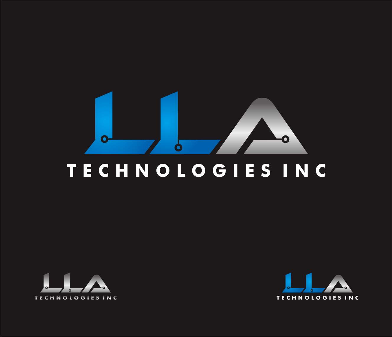Logo Design by Armada Jamaluddin - Entry No. 151 in the Logo Design Contest Inspiring Logo Design for LLA Technologies Inc..