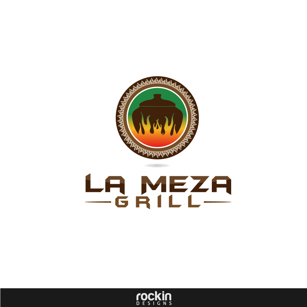 Logo Design by rockin - Entry No. 55 in the Logo Design Contest Inspiring Logo Design for La Meza Grill Ltd..