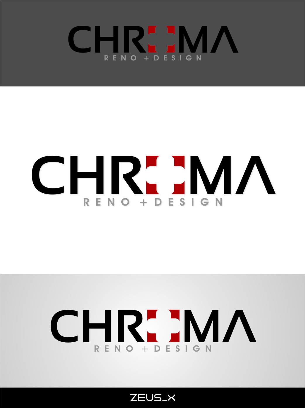 Logo Design by Ngepet_art - Entry No. 225 in the Logo Design Contest Inspiring Logo Design for Chroma Reno+Design.