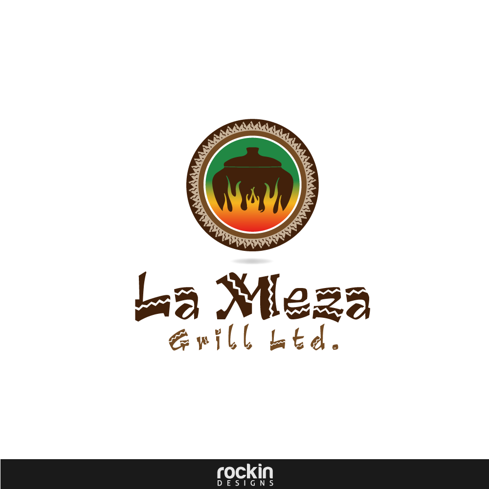 Logo Design by rockin - Entry No. 56 in the Logo Design Contest Inspiring Logo Design for La Meza Grill Ltd..