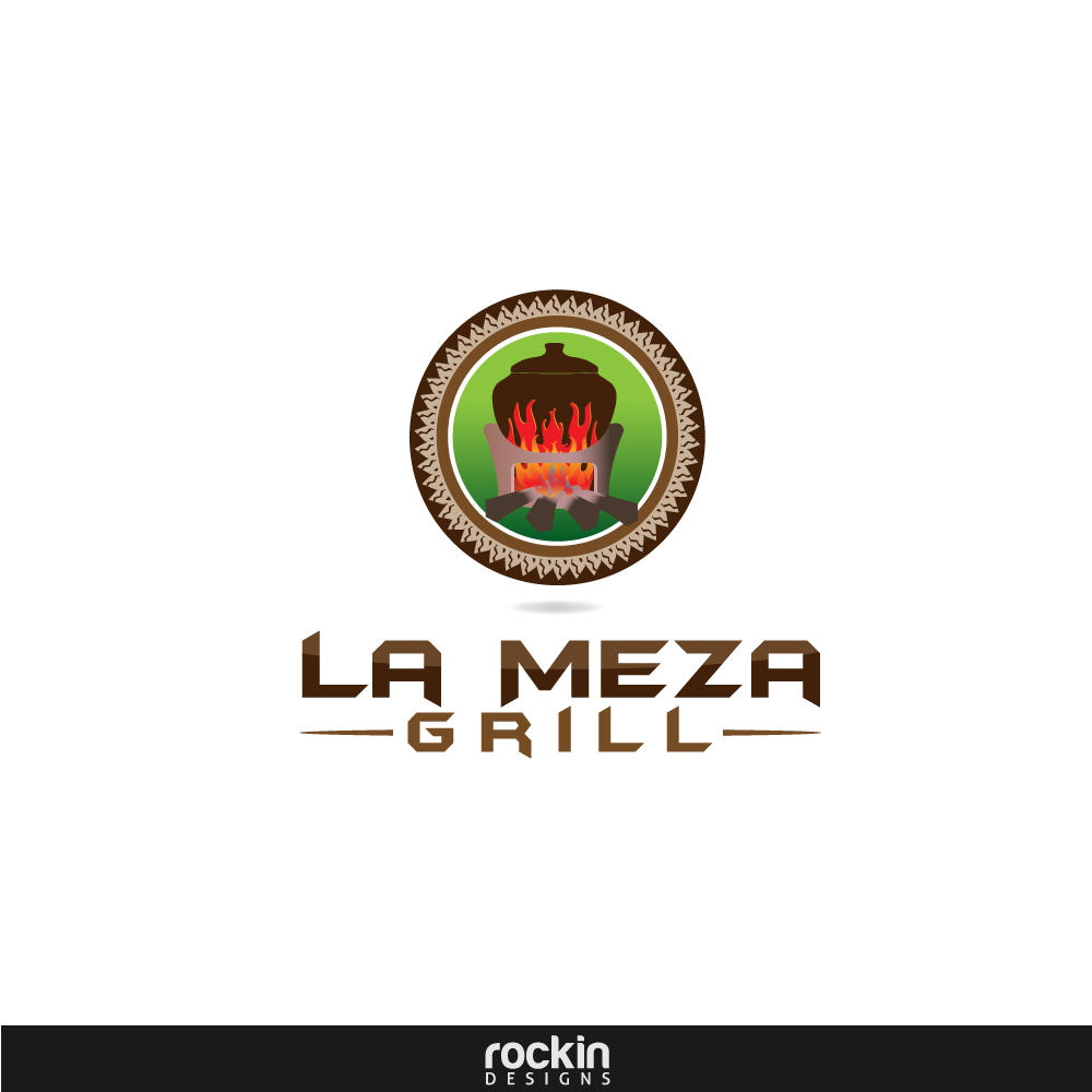 Logo Design by rockin - Entry No. 57 in the Logo Design Contest Inspiring Logo Design for La Meza Grill Ltd..