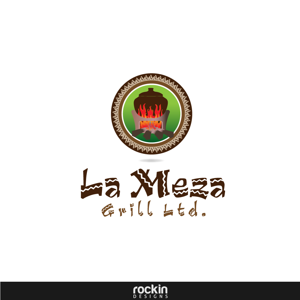 Logo Design by rockin - Entry No. 58 in the Logo Design Contest Inspiring Logo Design for La Meza Grill Ltd..