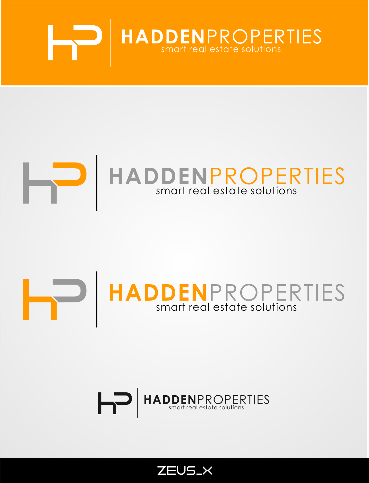 Logo Design by RasYa Muhammad Athaya - Entry No. 168 in the Logo Design Contest Artistic Logo Design for Hadden Properties.