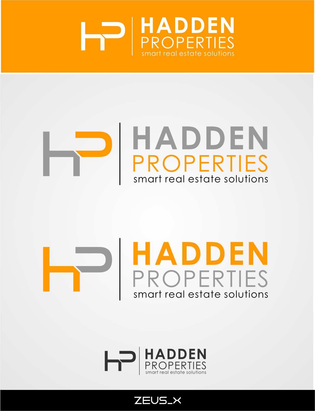 Logo Design by Ngepet_art - Entry No. 169 in the Logo Design Contest Artistic Logo Design for Hadden Properties.