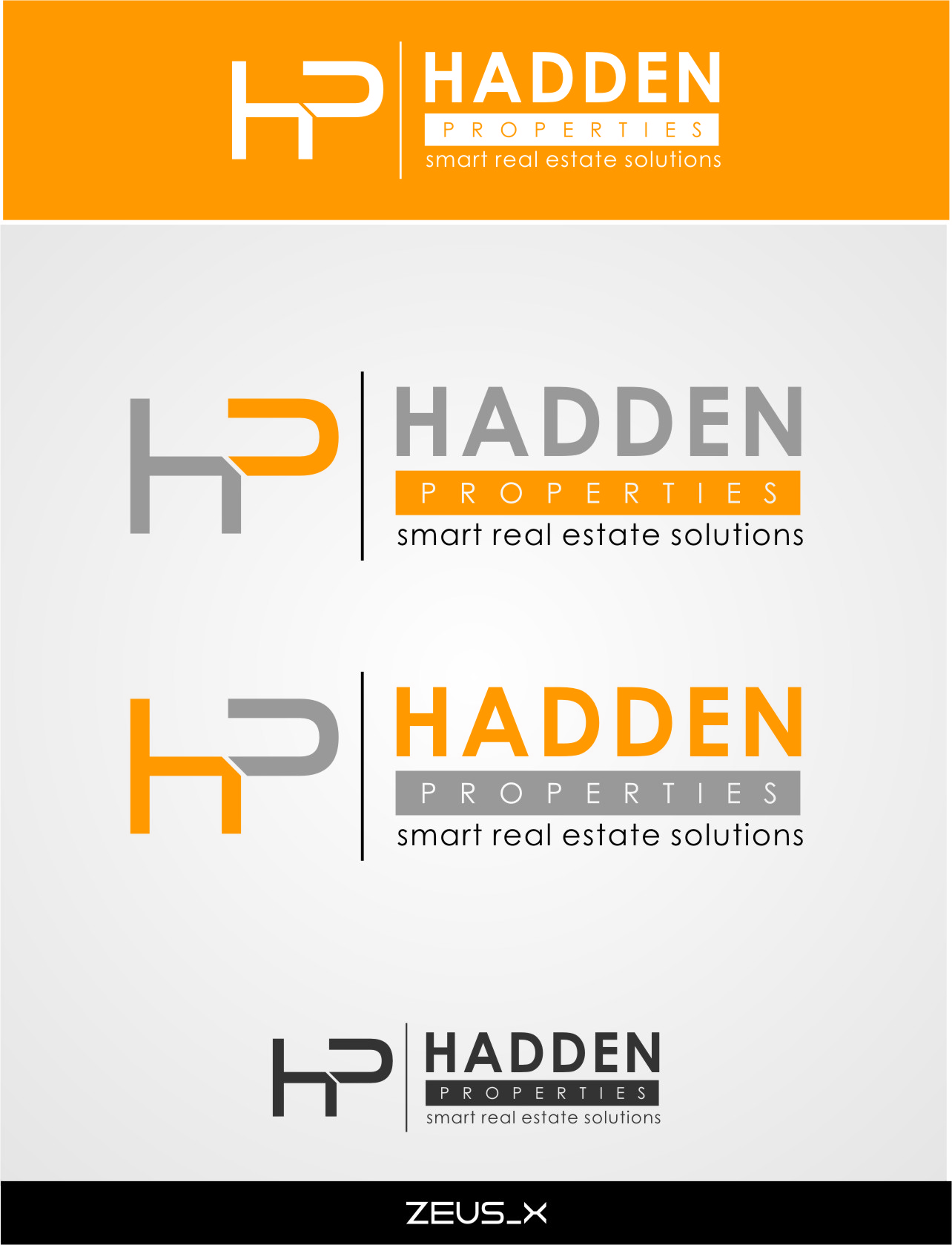 Logo Design by RoSyid Rono-Rene On Java - Entry No. 170 in the Logo Design Contest Artistic Logo Design for Hadden Properties.