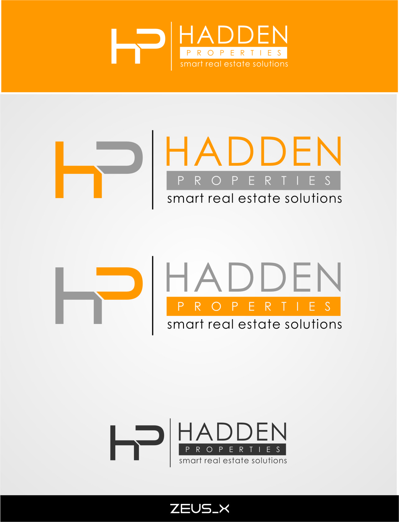 Logo Design by RasYa Muhammad Athaya - Entry No. 171 in the Logo Design Contest Artistic Logo Design for Hadden Properties.