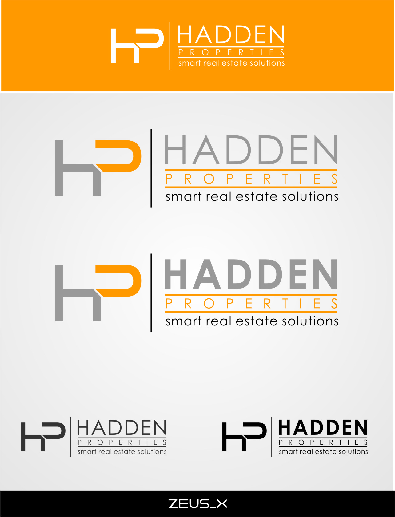 Logo Design by RasYa Muhammad Athaya - Entry No. 172 in the Logo Design Contest Artistic Logo Design for Hadden Properties.