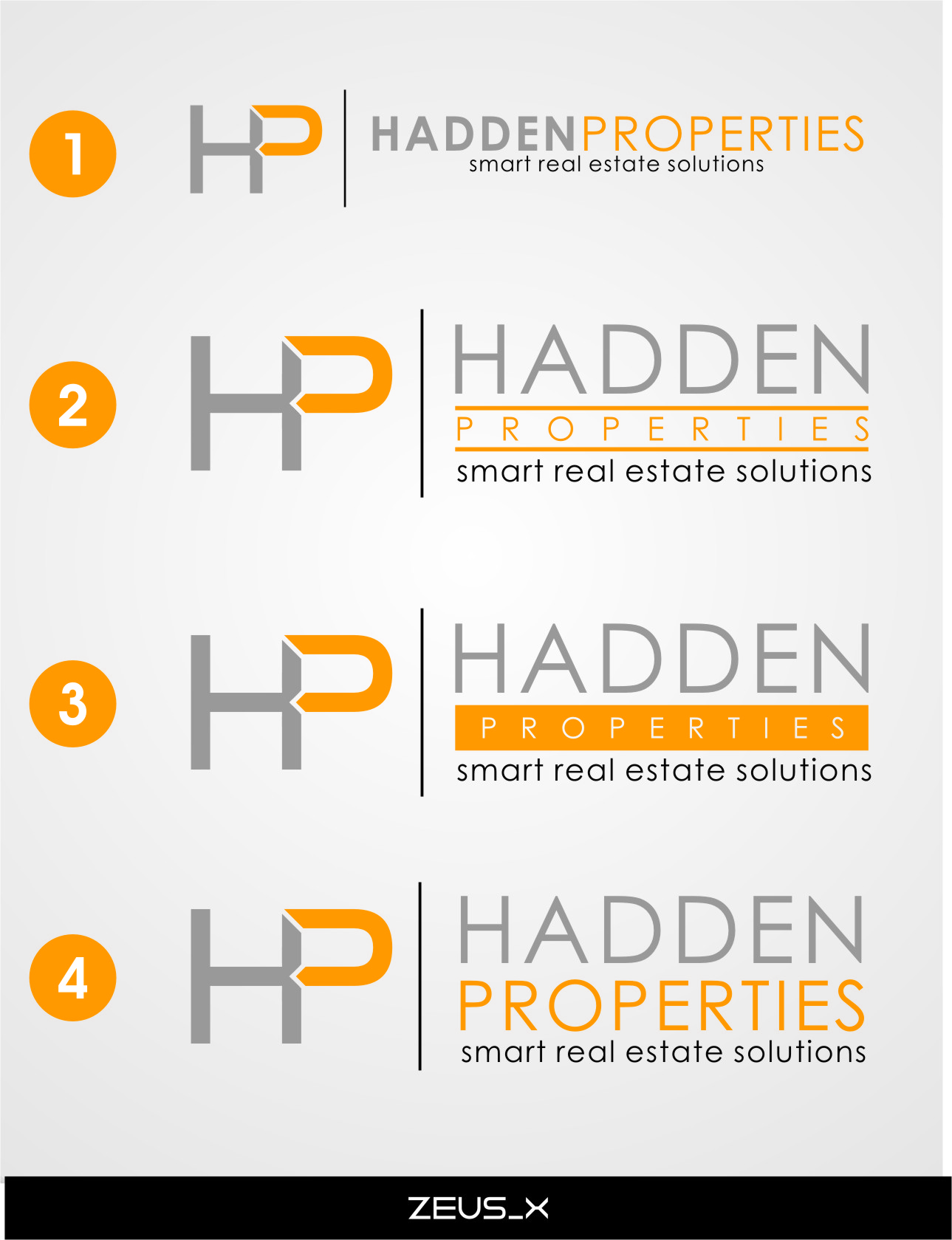 Logo Design by Ngepet_art - Entry No. 173 in the Logo Design Contest Artistic Logo Design for Hadden Properties.