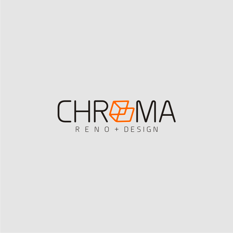 Logo Design by graphicleaf - Entry No. 227 in the Logo Design Contest Inspiring Logo Design for Chroma Reno+Design.