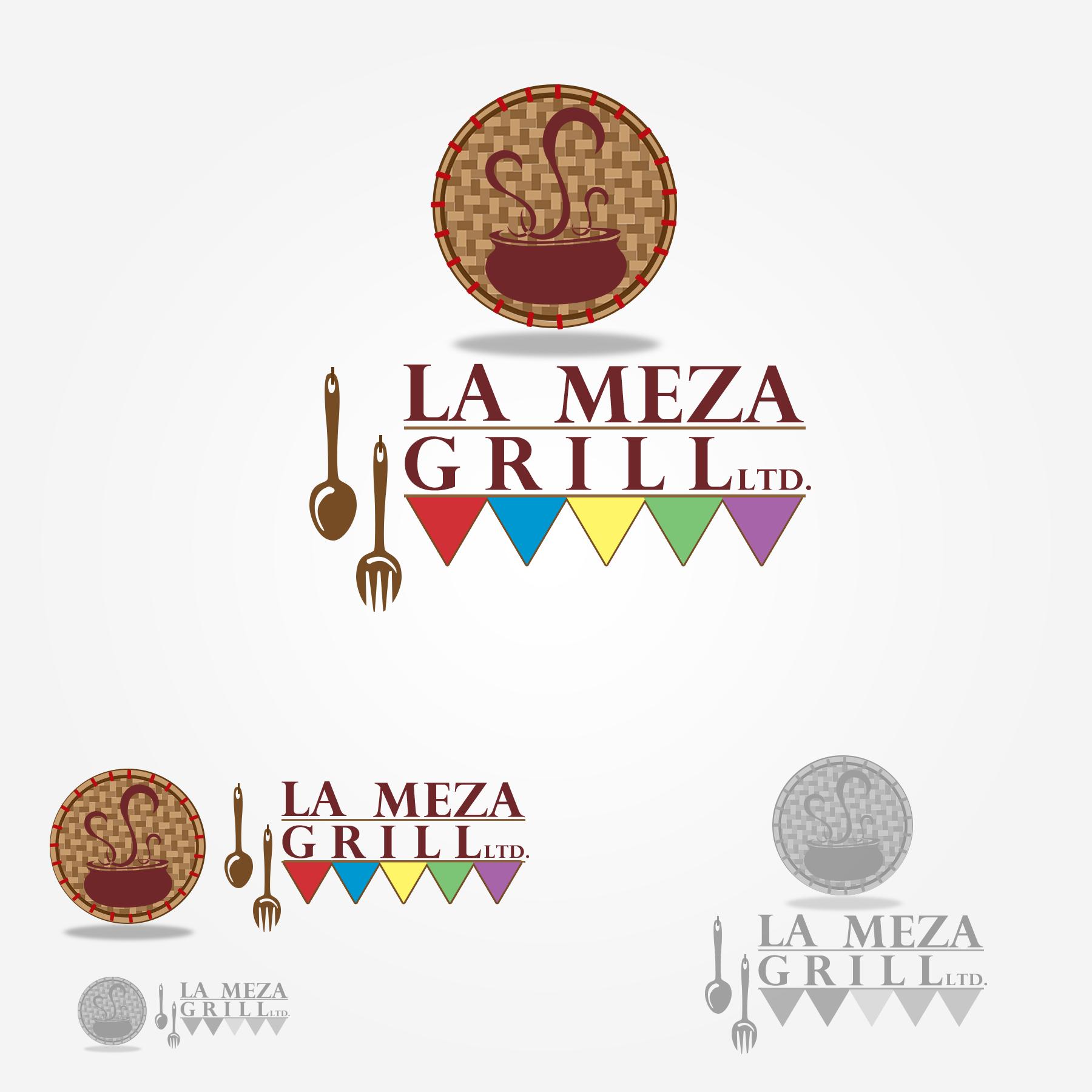 Logo Design by Lemuel Arvin Tanzo - Entry No. 62 in the Logo Design Contest Inspiring Logo Design for La Meza Grill Ltd..
