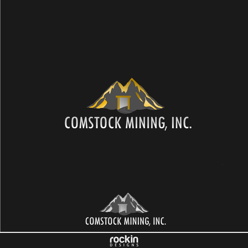 Logo Design by rockin - Entry No. 113 in the Logo Design Contest Captivating Logo Design for Comstock Mining, Inc..