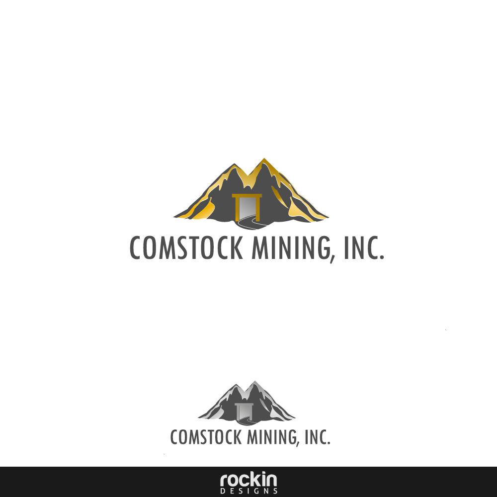 Logo Design by rockin - Entry No. 114 in the Logo Design Contest Captivating Logo Design for Comstock Mining, Inc..