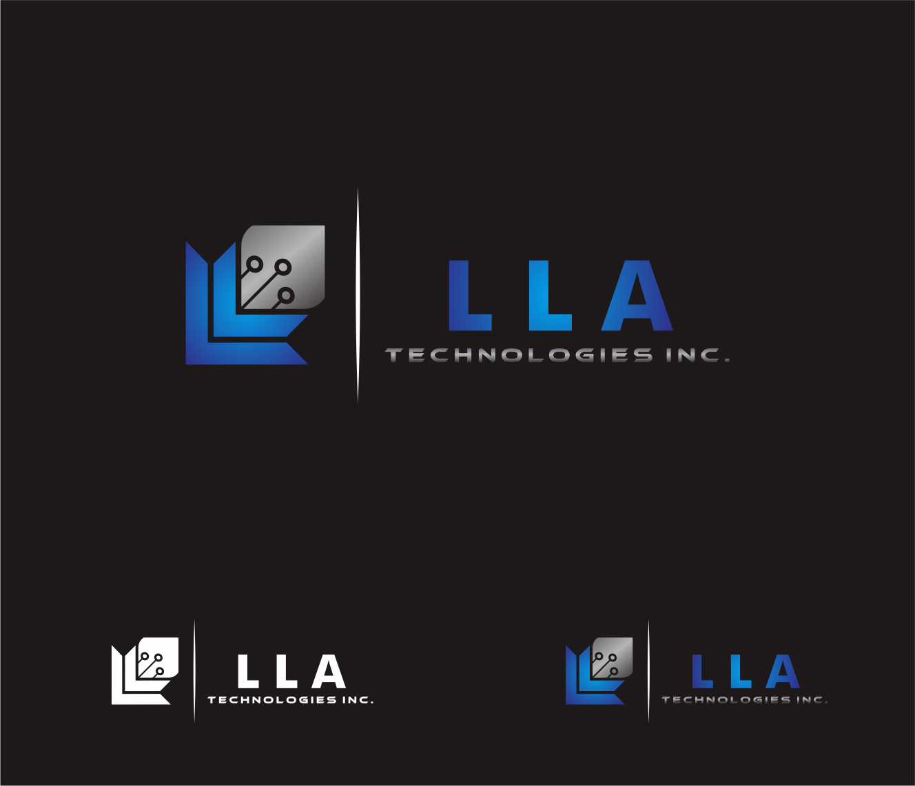 Logo Design by Armada Jamaluddin - Entry No. 160 in the Logo Design Contest Inspiring Logo Design for LLA Technologies Inc..