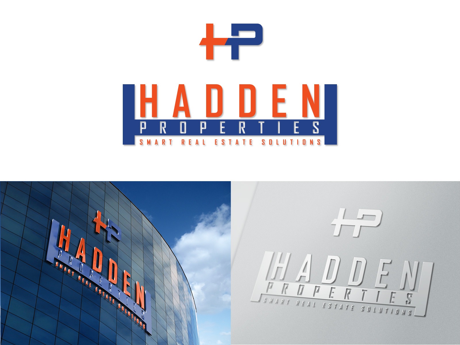 Logo Design by olii - Entry No. 177 in the Logo Design Contest Artistic Logo Design for Hadden Properties.