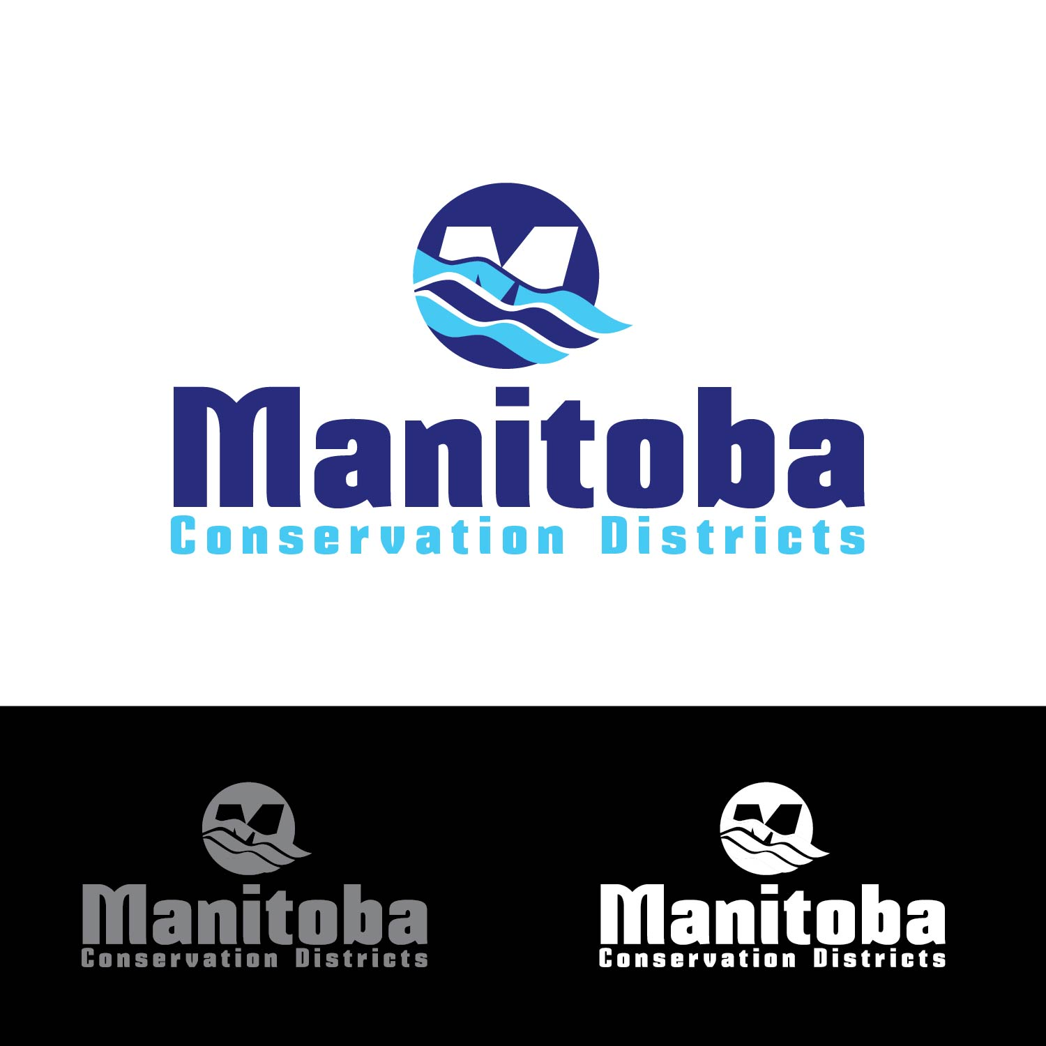 Logo Design by lagalag - Entry No. 1 in the Logo Design Contest Manitoba Conservation Districts Logo Design.