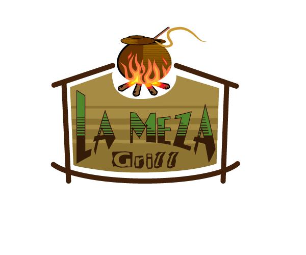 Logo Design by viewbee - Entry No. 67 in the Logo Design Contest Inspiring Logo Design for La Meza Grill Ltd..