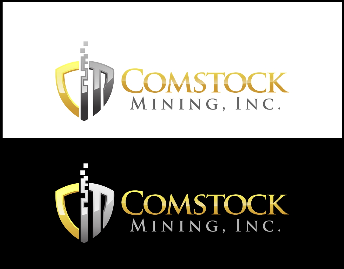 Logo Design by Reivan Ferdinan - Entry No. 120 in the Logo Design Contest Captivating Logo Design for Comstock Mining, Inc..