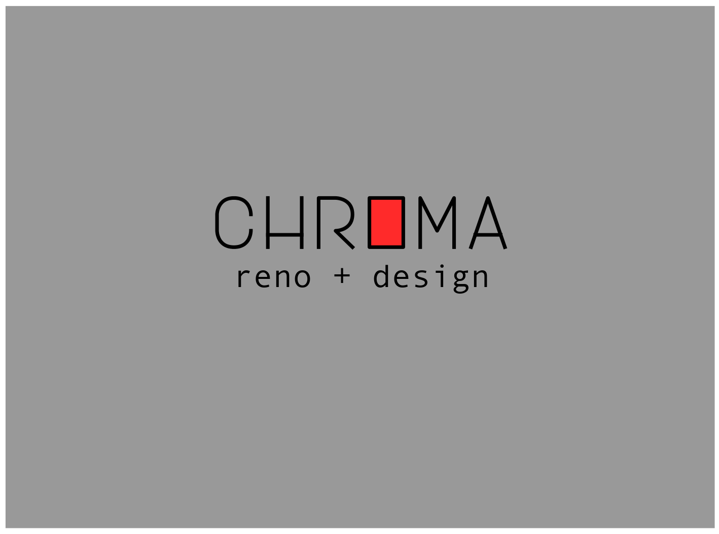 Logo Design by JaroslavProcka - Entry No. 228 in the Logo Design Contest Inspiring Logo Design for Chroma Reno+Design.