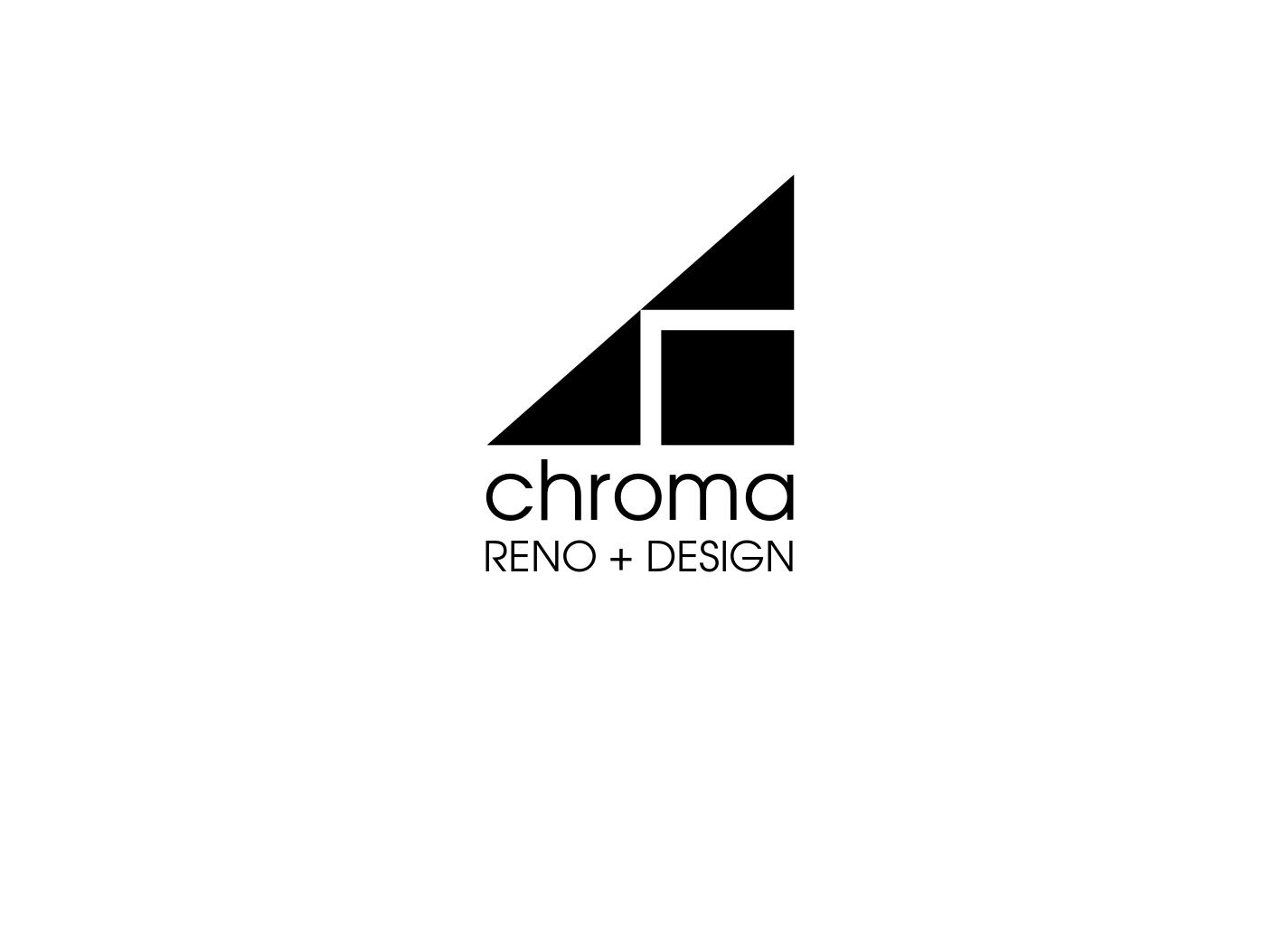 Logo Design by JaroslavProcka - Entry No. 230 in the Logo Design Contest Inspiring Logo Design for Chroma Reno+Design.