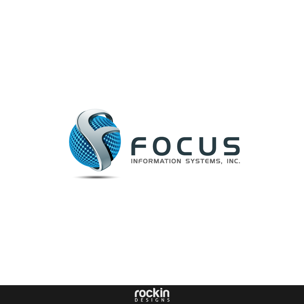 Logo Design by rockin - Entry No. 20 in the Logo Design Contest Artistic Logo Design for Focus Information Systems, Inc..