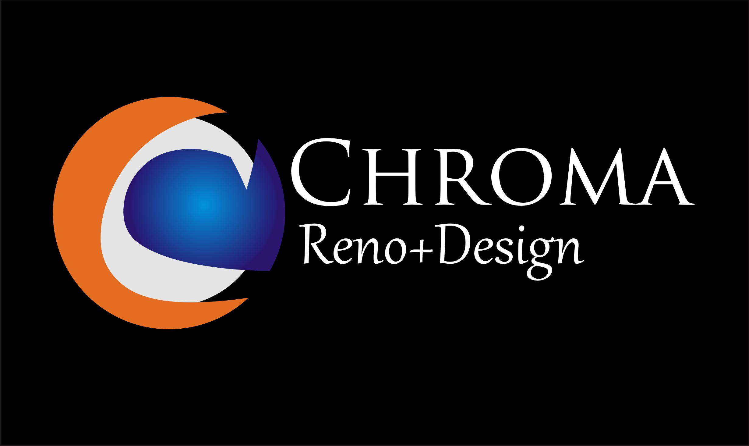 Logo Design by Josri Vengeance - Entry No. 231 in the Logo Design Contest Inspiring Logo Design for Chroma Reno+Design.