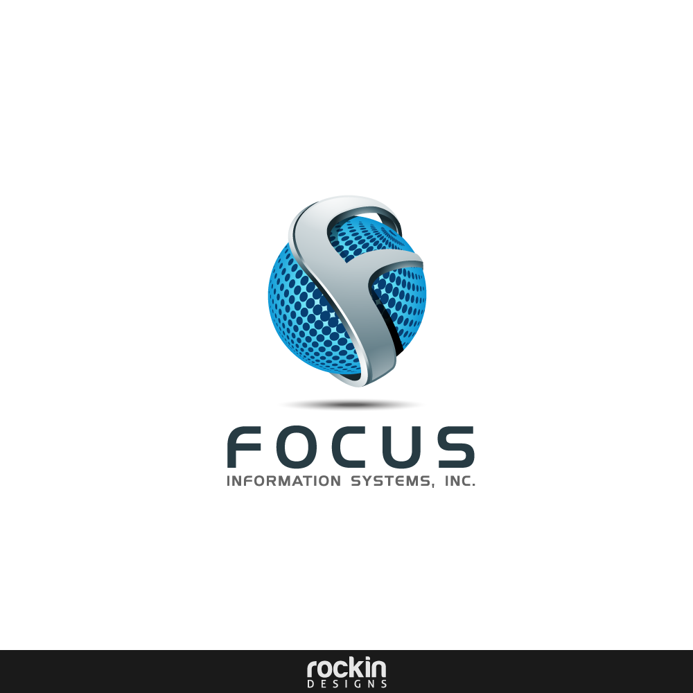 Logo Design by rockin - Entry No. 21 in the Logo Design Contest Artistic Logo Design for Focus Information Systems, Inc..