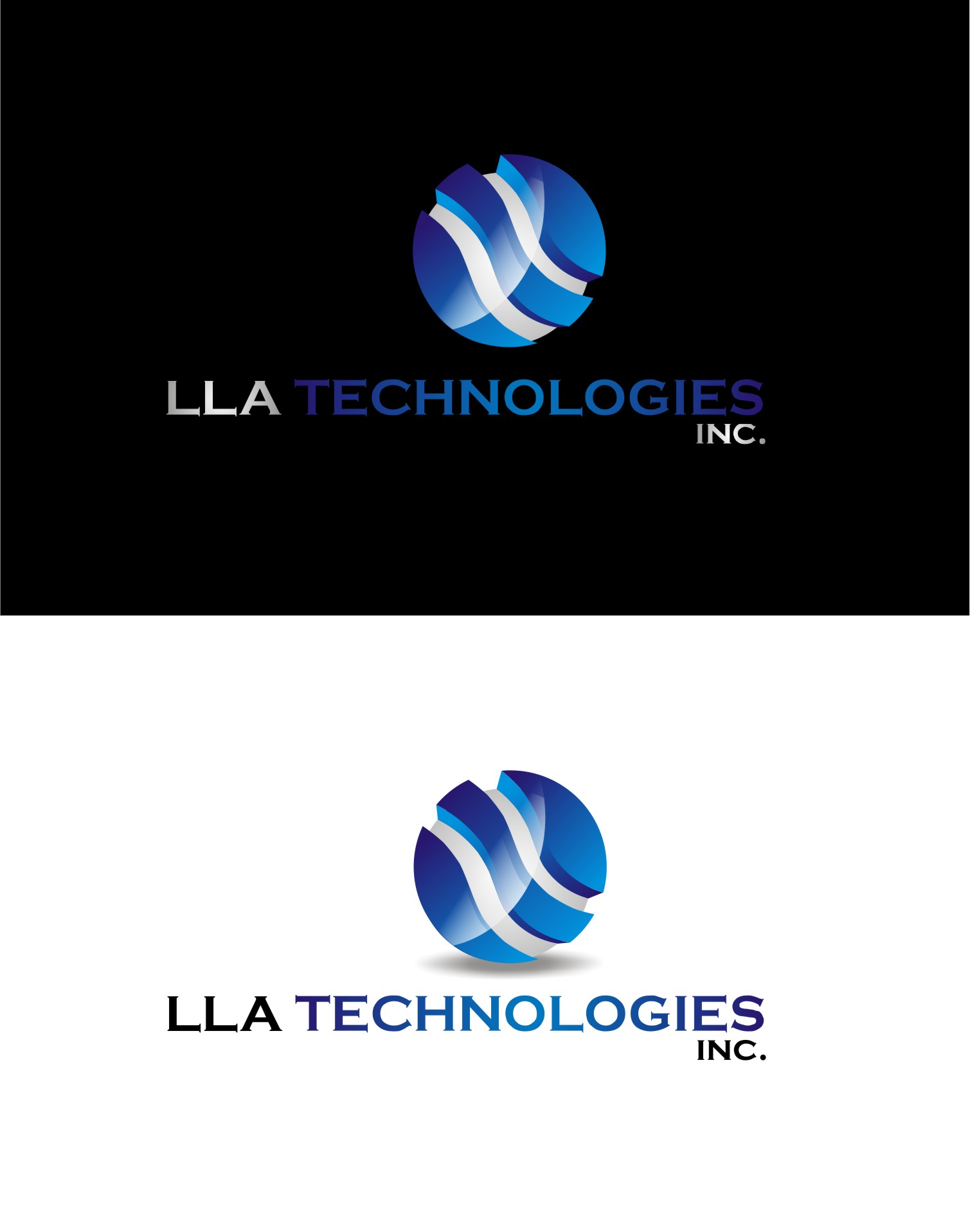 Logo Design by Yuda Hermawan - Entry No. 167 in the Logo Design Contest Inspiring Logo Design for LLA Technologies Inc..