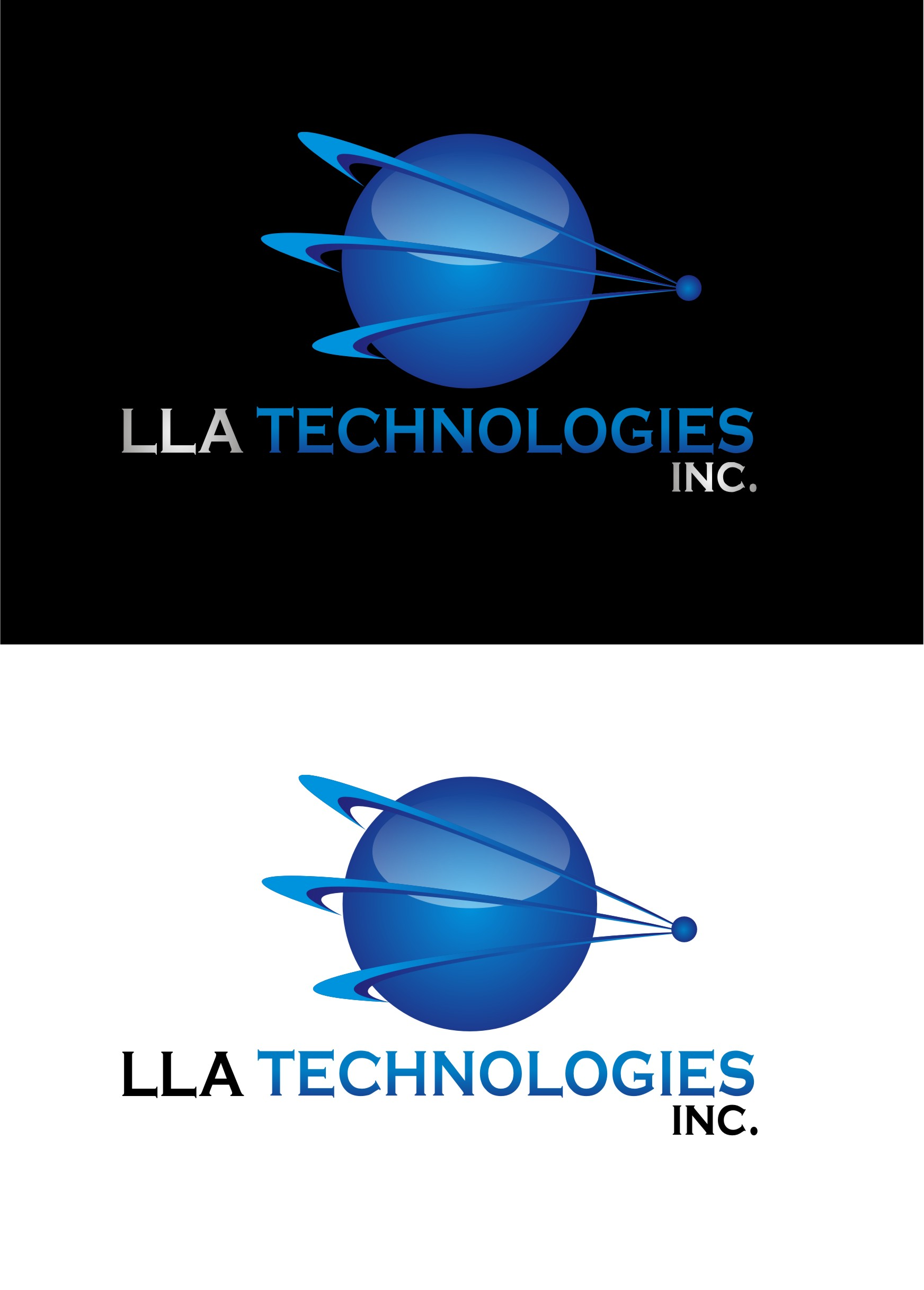 Logo Design by Yuda Hermawan - Entry No. 168 in the Logo Design Contest Inspiring Logo Design for LLA Technologies Inc..