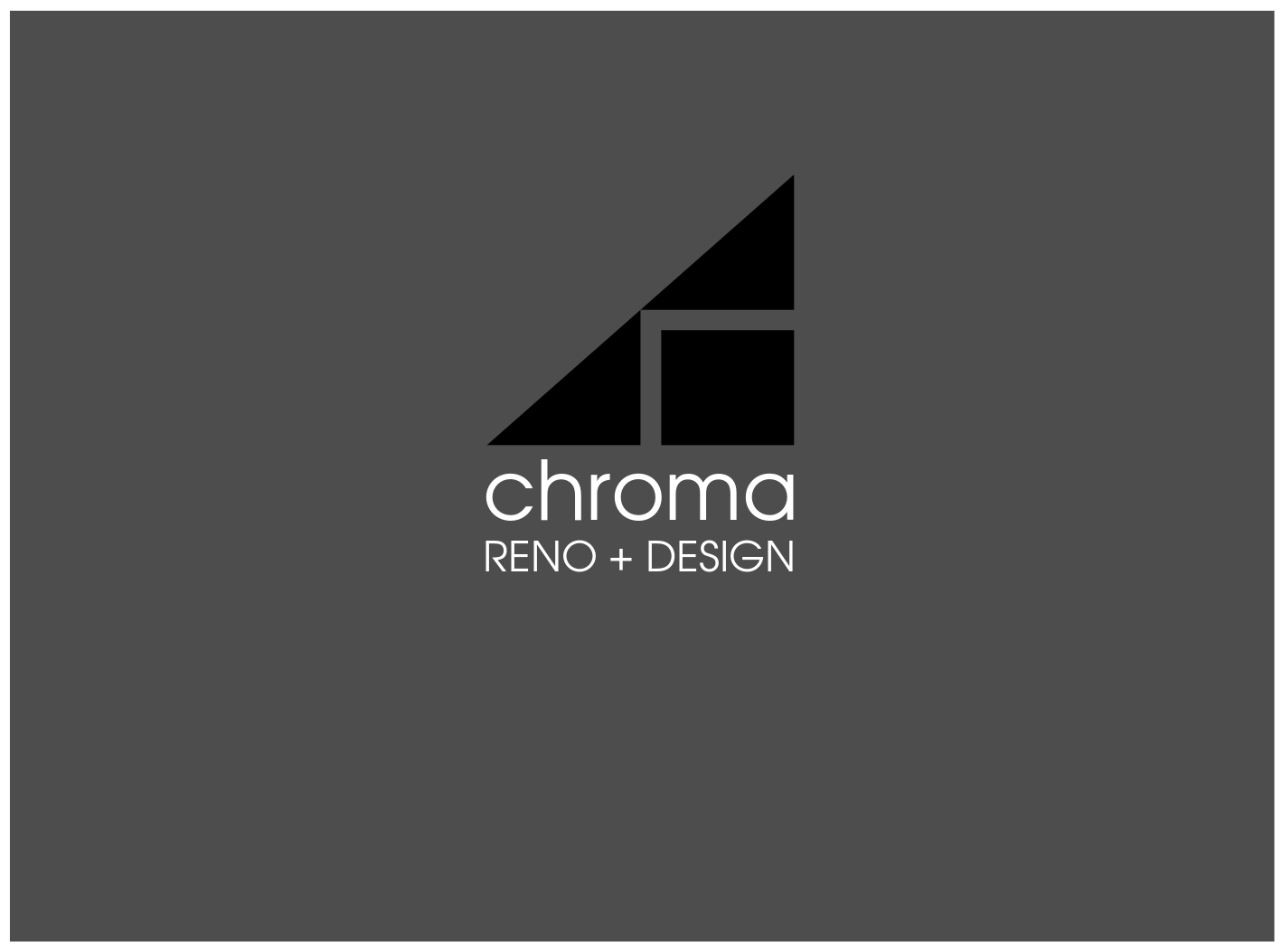 Logo Design by JaroslavProcka - Entry No. 232 in the Logo Design Contest Inspiring Logo Design for Chroma Reno+Design.