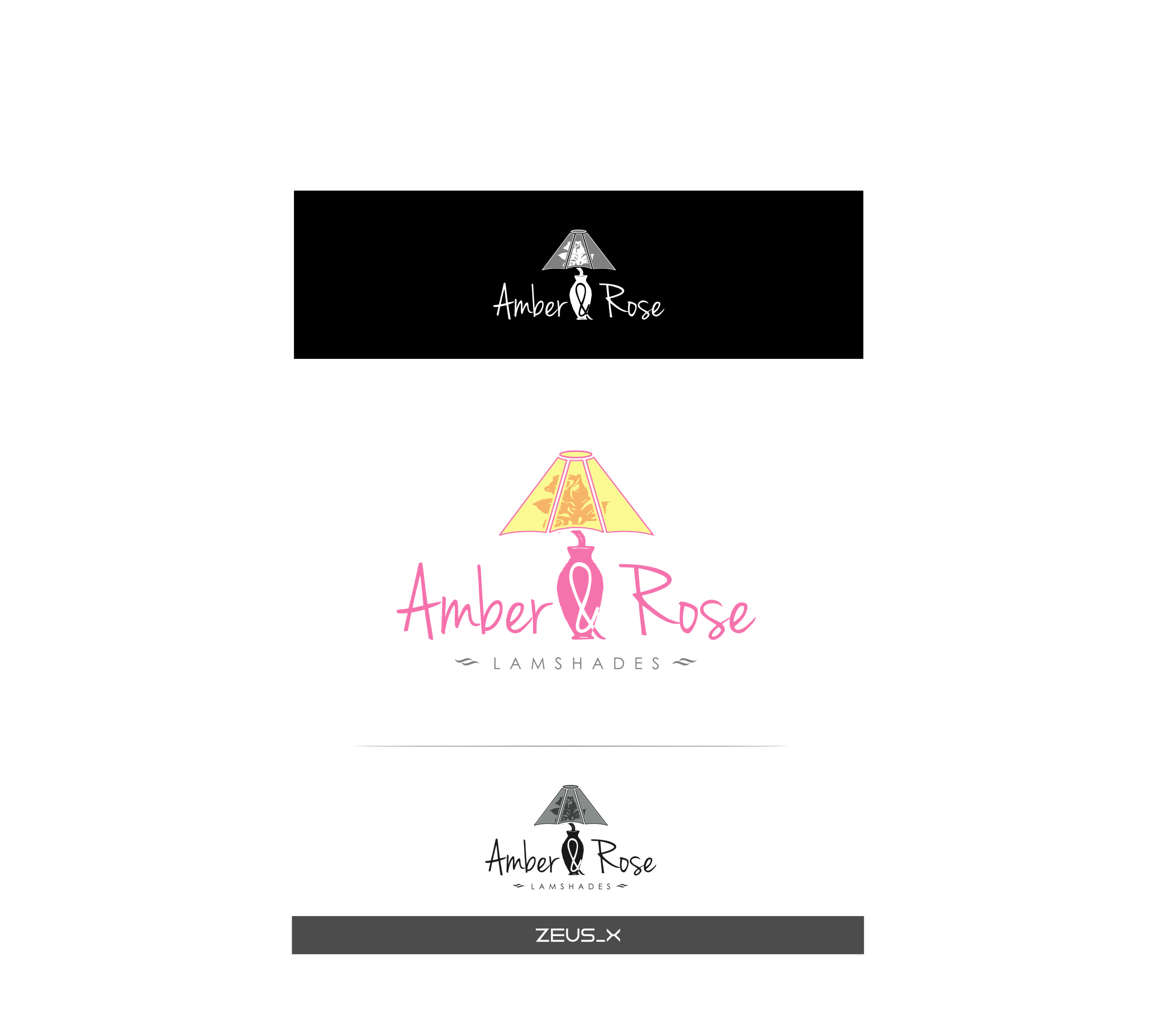 Logo Design by RasYa Muhammad Athaya - Entry No. 39 in the Logo Design Contest Creative Logo Design for Amber & Rose.